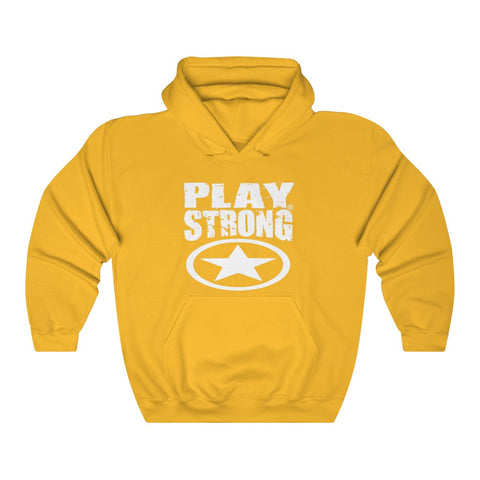 Image of Play Strong GLOBAL STAR Unisex Heavy Blend™ Hoodies