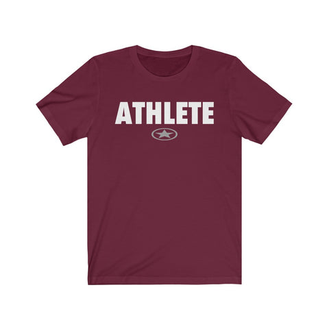 Image of ATHLETE Unisex Jersey Short Sleeve Tee