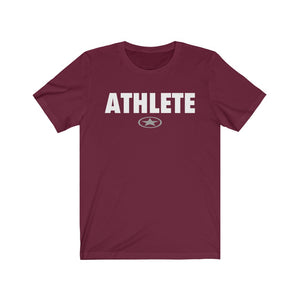 ATHLETE Unisex Jersey Short Sleeve Tee