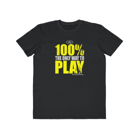 Image of 100% PLAY Lightweight Sports Fashion Tee