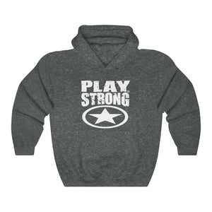 Play Strong GLOBAL STAR Unisex Heavy Blend™ Hoodies