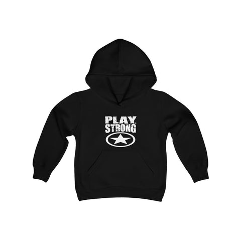 Super Star Logo Youth Heavy Blend Hooded Sweatshirt