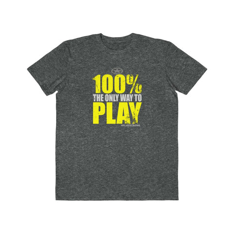100% PLAY Lightweight Sports Fashion Tee