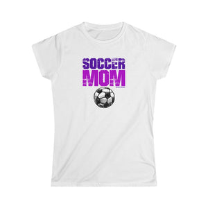 Incredible SOCCER MOM Women's Softstyle Tee