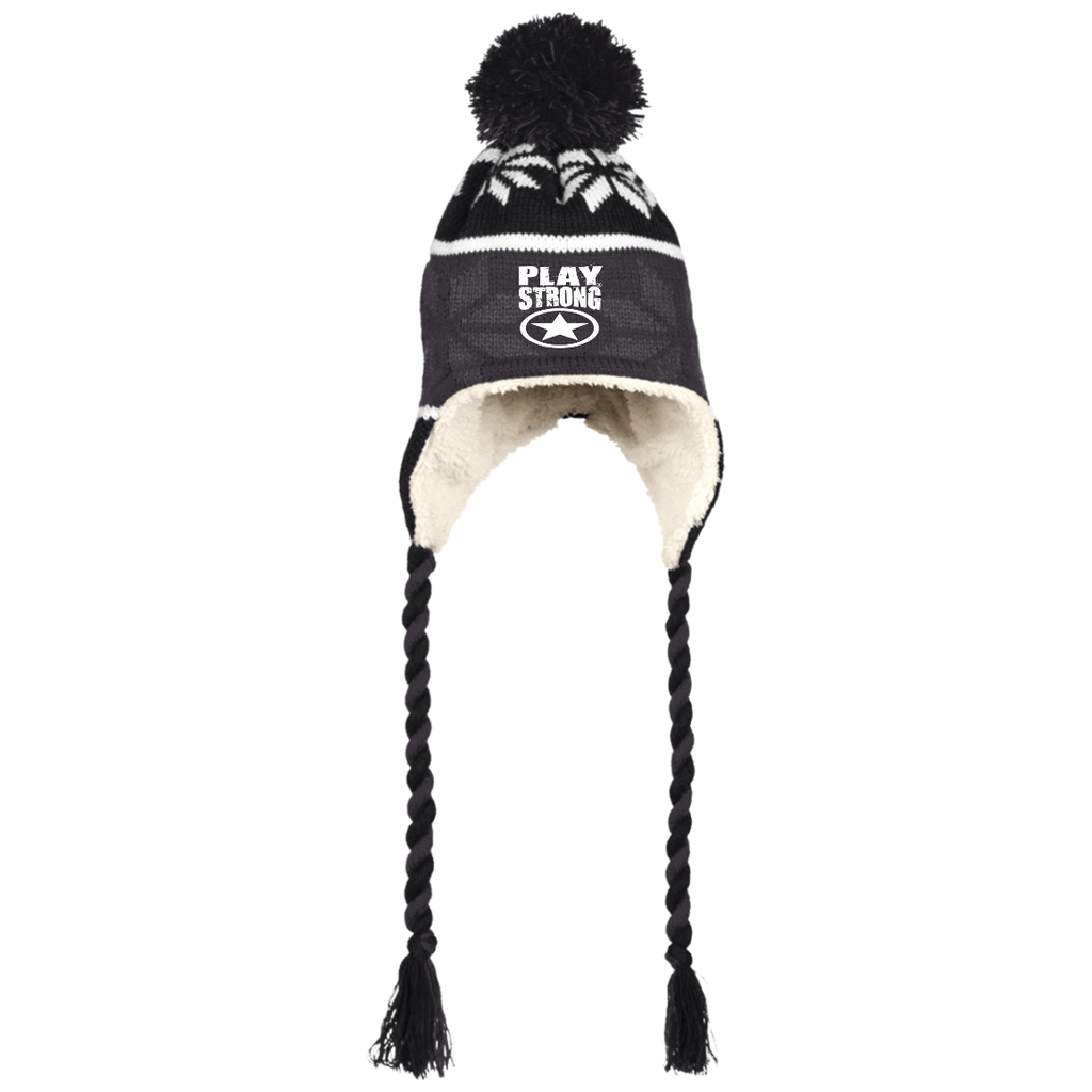 Cuddly Soft Sherpa Hat with Ear Flaps & Ties