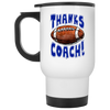 Thanks Coach! Football Play Strong Travel Mug