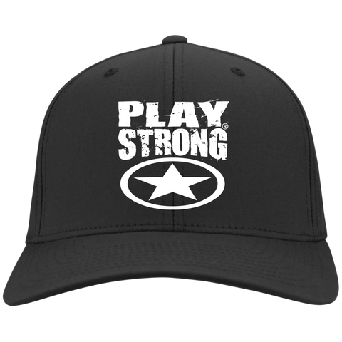 Play Strong BLACK STAR Dry Zone Nylon Cap