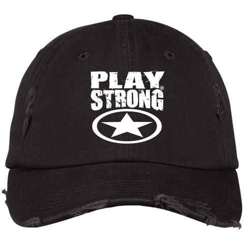 Distressed Play Strong Star Cap