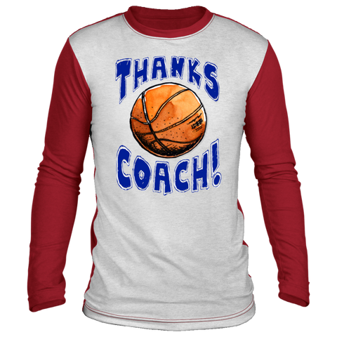 Image of Thanks Coach! Super Soft & Comfy Long Sleeve Shirt