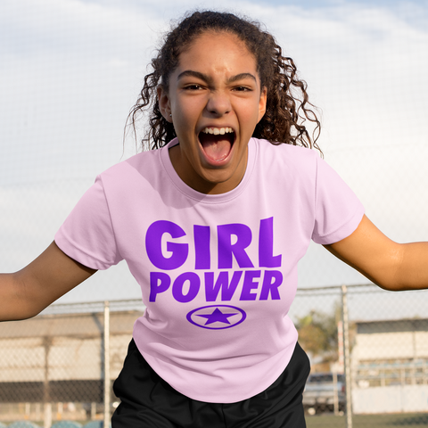 GIRL POWER Unisex Jersey Short Sleeve Tee