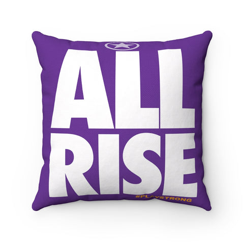 ALL RISE Sports PowerWORD Square Pillow