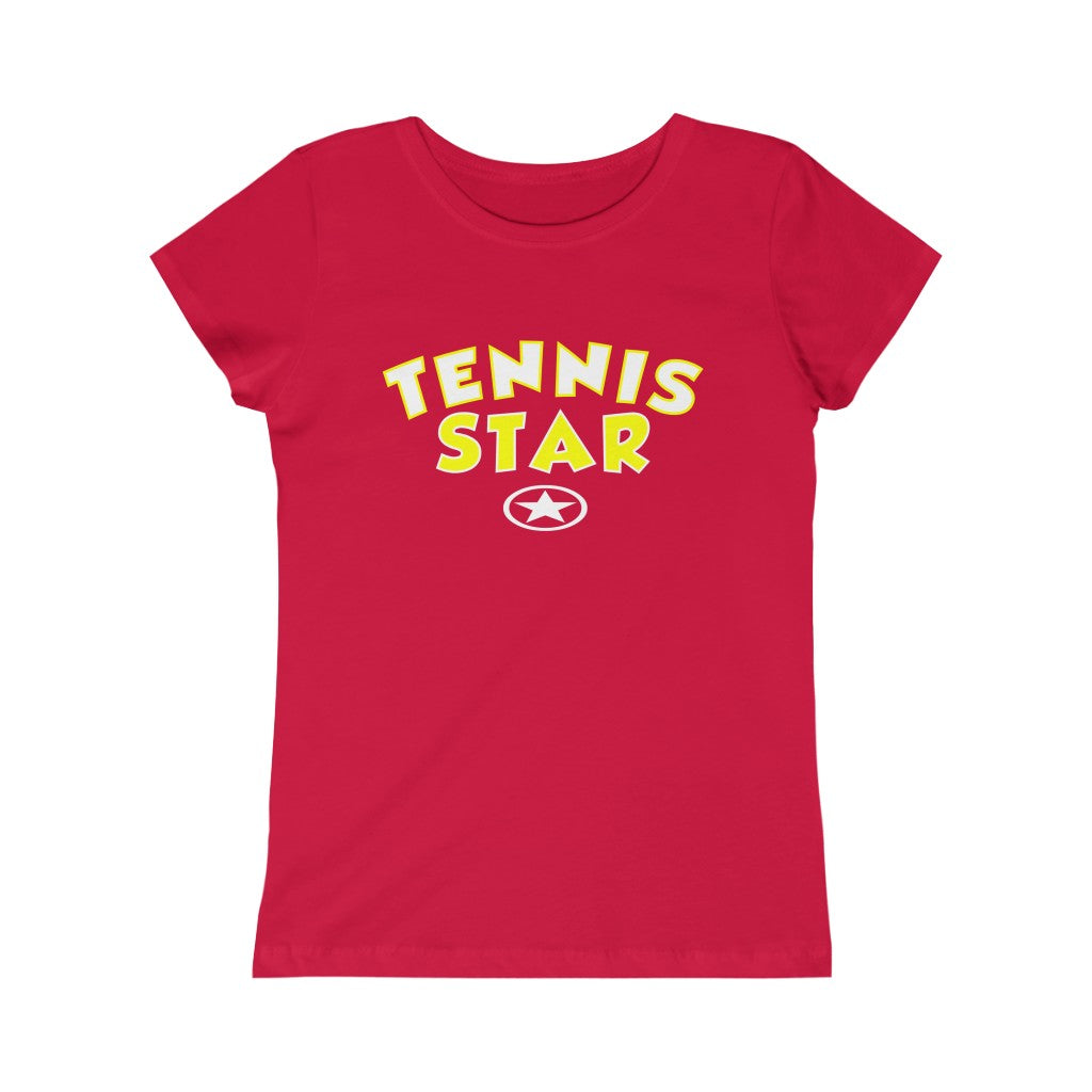 TENNIS STAR Girls Princess Tee