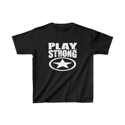 PLAY STRONG SUPER STAR Kids Heavy Cotton™ Tee