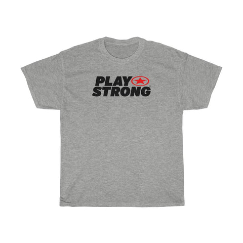 Image of Play Strong Super Star Workout Unisex Heavy Cotton Tee