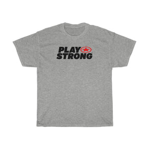 Play Strong Super Star Workout Unisex Heavy Cotton Tee