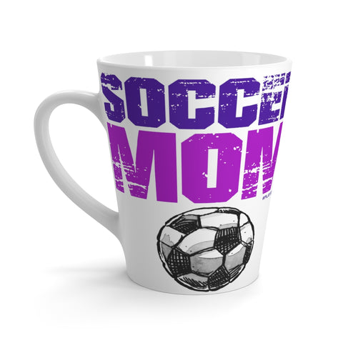 Image of Awesome SOCCER MOM Latte Mug