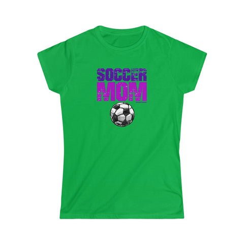 Image of Incredible SOCCER MOM Women's Softstyle Tee