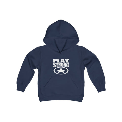 Image of Super Star Logo Youth Heavy Blend Hooded Sweatshirt