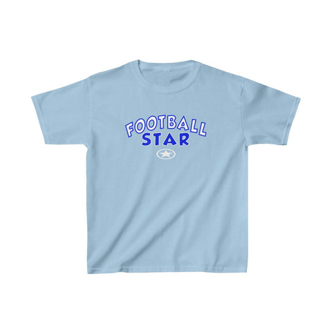 FOOTBALL STAR Kids Heavy Cotton™ Tee
