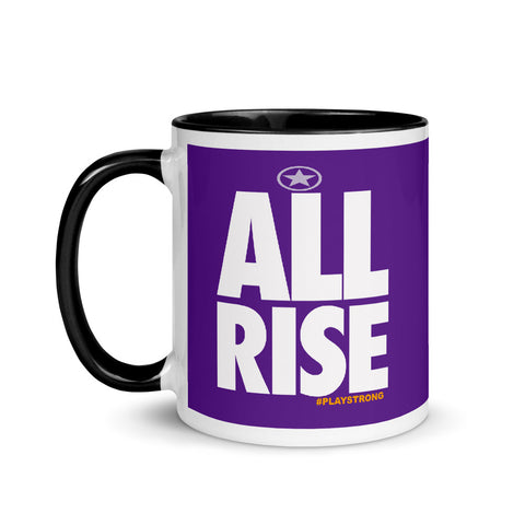 Image of ALL RISE Mug with Color Inside