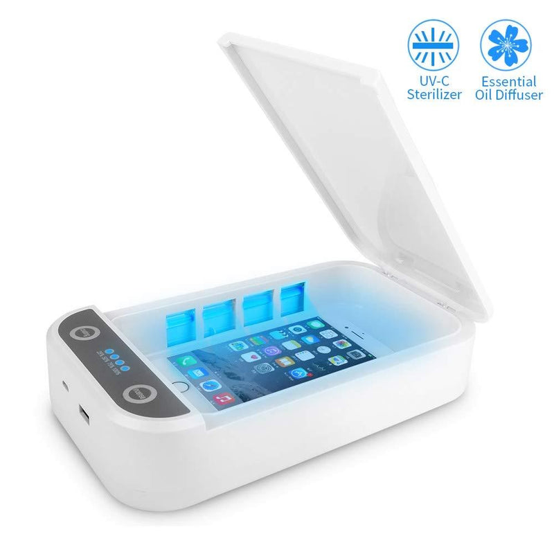"""The Clean Phone Basic"" UV Phone Sanitizer and Charger - The Global Majority Shop"