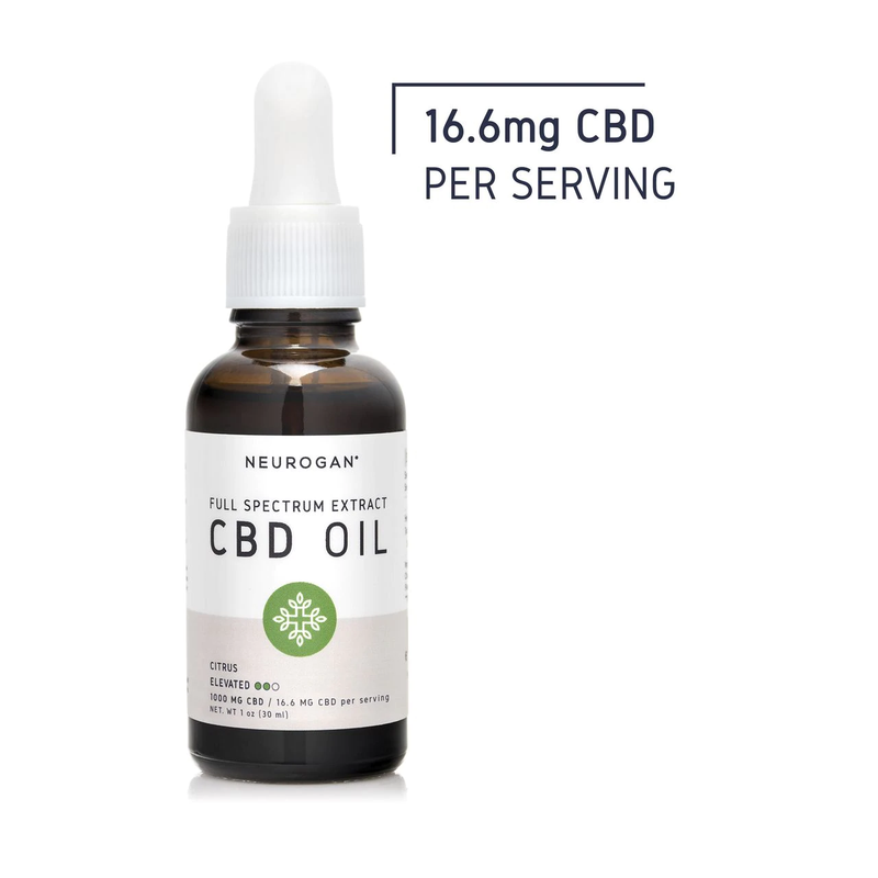 CBD Oil 1000mg/1 oz. Full-Spectrum, Citrus Flavored - (2 bottles) - The Global Majority Shop
