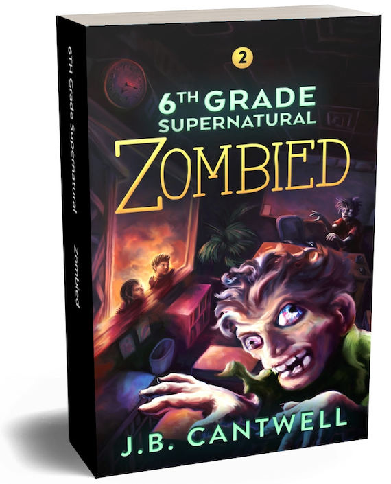 6th Grade Supernatural (Book 2): Zombied Paperback