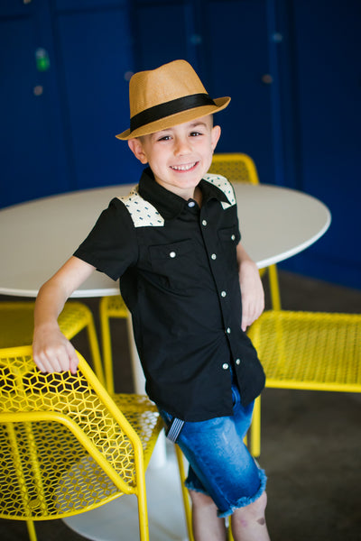 Boys fedora hat