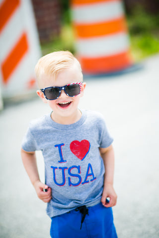 boys I love the usa tee