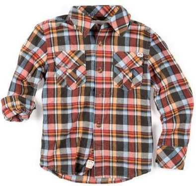 Appaman plaid flannel Baked Apple Plaid