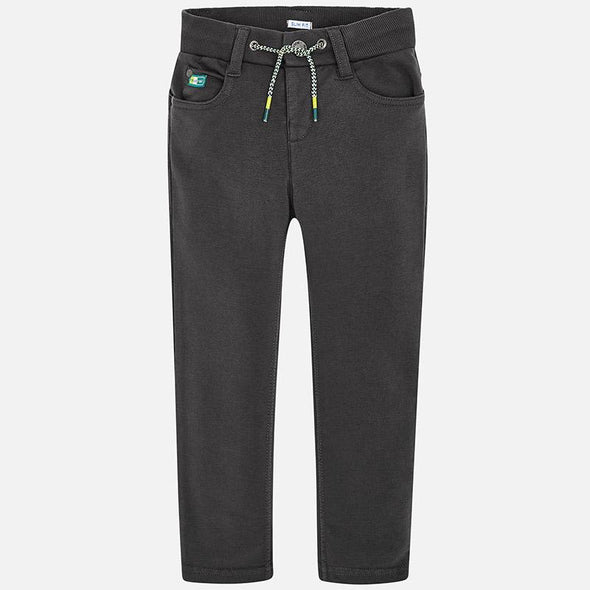 Mayoral - Boys Stretchy Slim Fit Pants in Tire