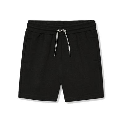 Mayoral boys black fleece shorts