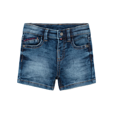 Mayoral - Baby Soft Denim Shorts in Blue