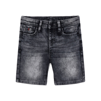 Mayoral Boys grey denim shorts