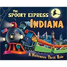 The Spooky Express Indiana children's book