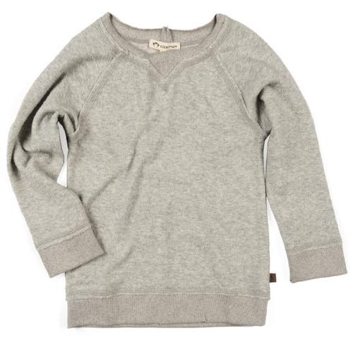 Appaman boys Hunter Raglan in heather mist grey