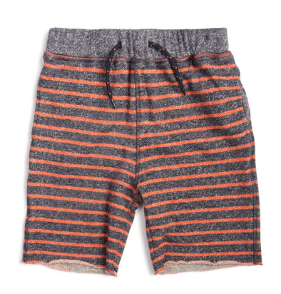 Appman camp short orange and charcoal