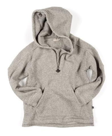 Appaman - Boys Half-Zip Hoodie in Sea Salt
