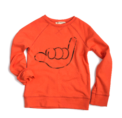 Appaman Bay Breeze Orange sweatshirt