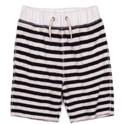 Appaman Boys Camp Shorts in Navy Stripe (Size 2T)