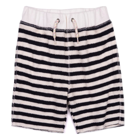 Appaman Boys Camp Shorts in Navy Stripe
