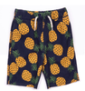 Appaman Boys Camp Shorts in Navy with Pineapples