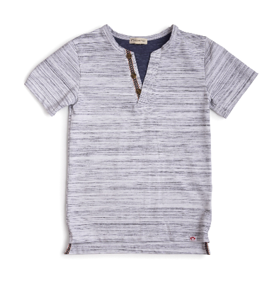Appaman sunset henley white stripes