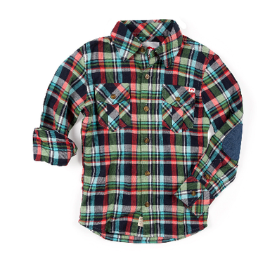 Appaman boys flannel in vineyard plaid