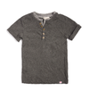 Appaman - Boys Short Sleeve Henley in Grey