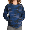 Appaman - Boys Camo Feature Crewneck Sweatshirt in Navy