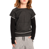 Appaman - Boys Free Style Sweatshirt in Heather Charcoal