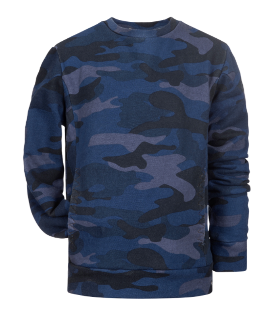 Appaman navy camo sweatshirt