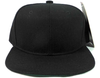 Toddler boys black snapback hat