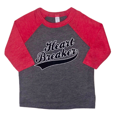 Boys Heart Breaker raglan tee
